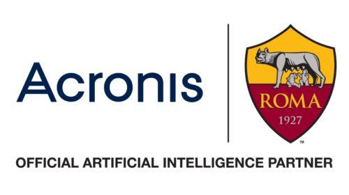 Acronis oficiálním AI partnerem fotbalového týmu A.S. Roma