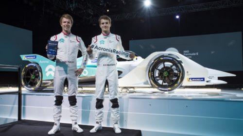 Acronis oficiálním partnerem týmu NIO ve Formuli E