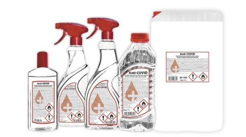 DB Schenker rozváží lékařům po celé zemi dezinfekci zlínského výrobce DF Partner