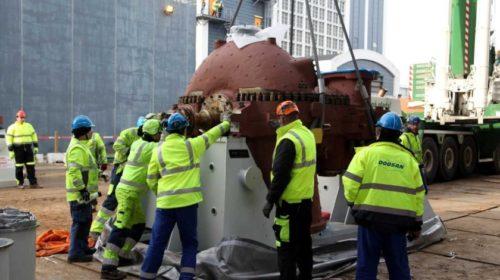 Srdce dánské kogenerační elektrárny Asnæs