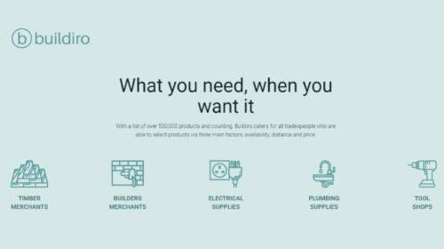 Buildiro digitalizuje proces nákupu stavebních materiálů