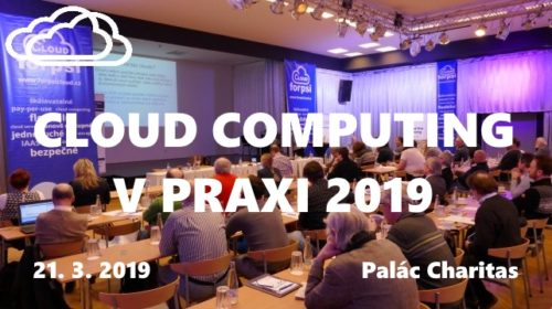 Konference: Cloud computing v praxi 2019