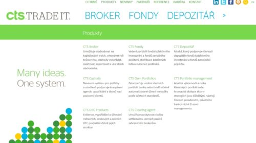 CREDITAS: Nově prodej cenných papírů se systémem od CTS Trade IT