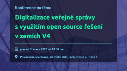 Digitalizace veřejné správy s využitím open source řešení v zemích V4
