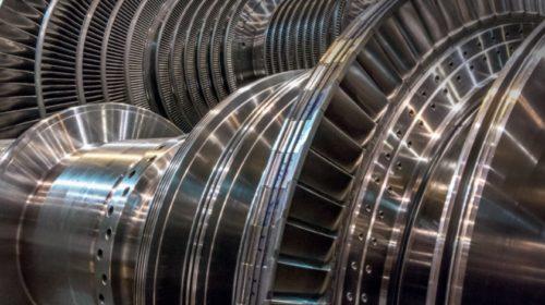 Turbíny pro spalovnu na milion tun odpadu ročně
