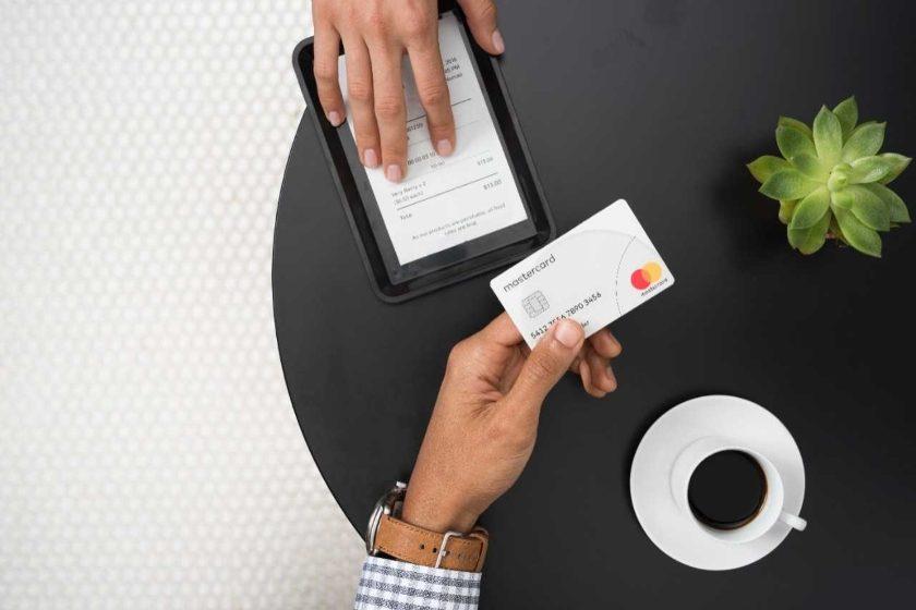 Mastercard platby kartou
