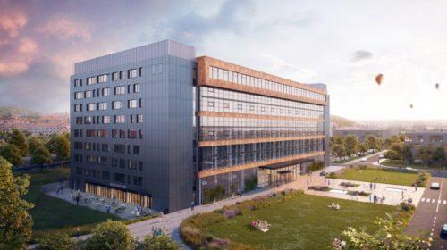 Budova Nové Zbrojovky bude využívat moderní technologie