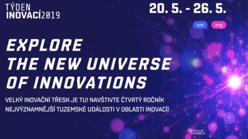 Týden inovací 2019: Světové osobnosti a převratné technologie