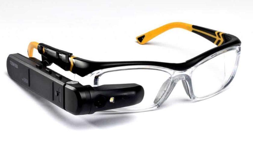 Toshiba inteligentní brýle