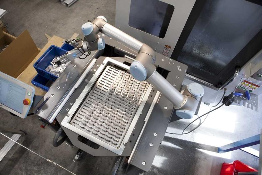 Uchopovače OnRobot RG2 v FT-Produktion