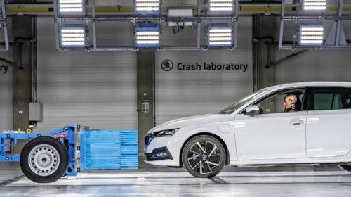 Škodovka otevřela moderní crashovou laboratoř