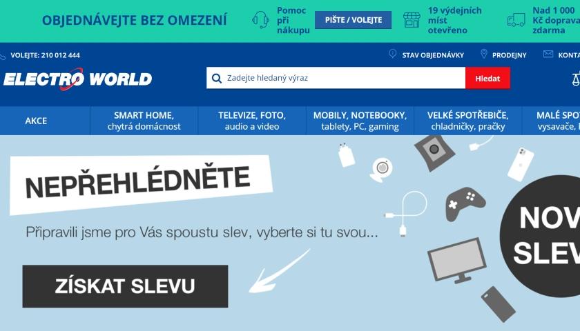 electroworld web