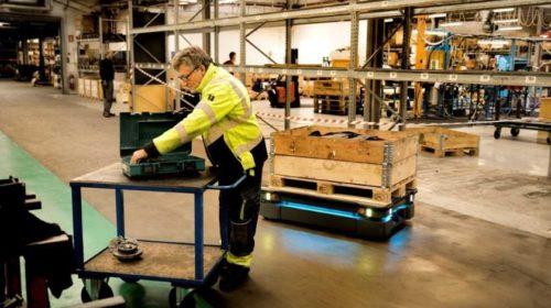 Logistika: 162% nárůst dodávek v oblasti AGV vozidel a AMR robotů