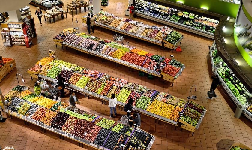 supermarket nakupování